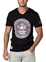 CANADIAN PEAK Camiseta Manga Corta Jimothe (Negro)