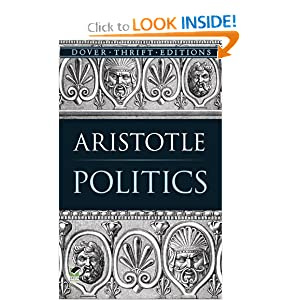 Politics (Dover Thrift Editions) by Aristotle and Benjamin Jowett