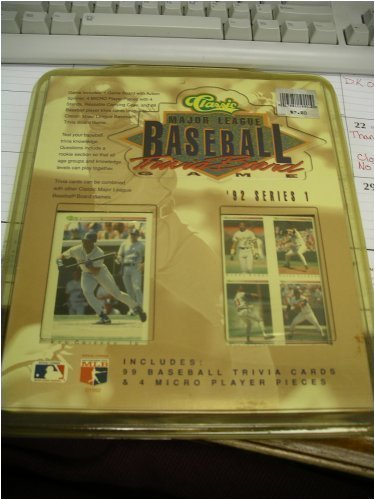 Classic Major League Baseball Trivia Board Game '92 Series1 - 1