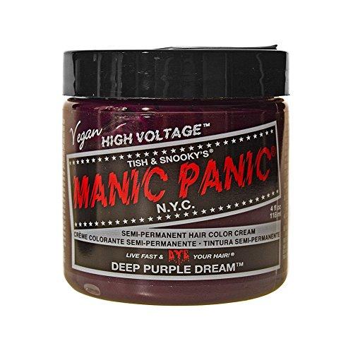 Deep Purple Dream Manic Panic 4 Oz Hair Dye (Purple Red Hair Dye compare prices)