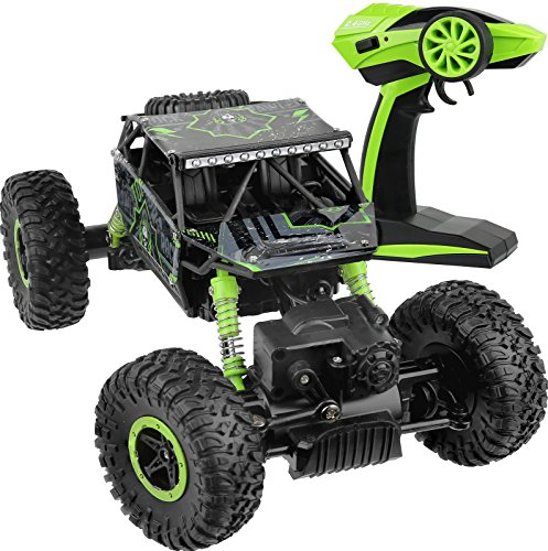Click N Play R/C Remote Control 4WD Off Road All-Weather Rock Crawler Vehicle 2.4 GHz. (Long Range Remote Control Truck compare prices)