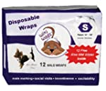 Wiki Wags Brand 12 Small Disposable M...