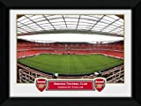 Arsenal - Emirates Stadium - 8 x 6 inch - Black Wooden Framed Photograph