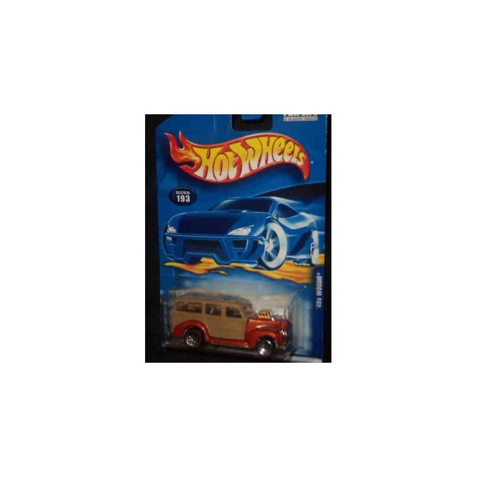 #2000 193 1940s Woodie Collectible Collector Car Mattel Hot Wheels