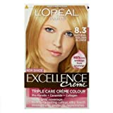 L'Oreal Excellence NEW SHADE- Natural Golden Blonde 8.3
