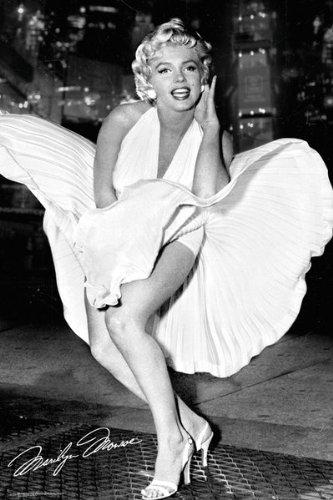 Poster - Marilyn Monroe - New York Dress - 61 X 91.5Cm - Fp3354 - Gb Eye