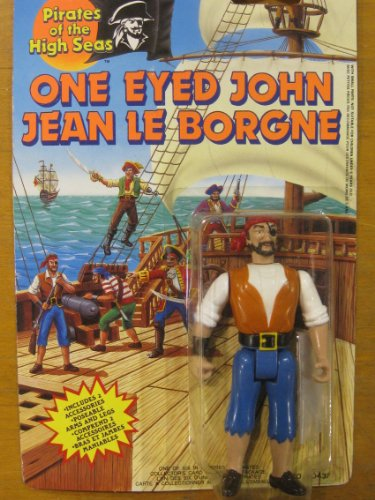 Pirates of the High Seas-One Eyed John