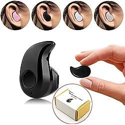 Mini auricolare invisibile, PChero® Ultra Small Bluetooth 4,0 - auricolari con microfono, per mani libere, per smartphone, Ideale per musica durante il lavoro