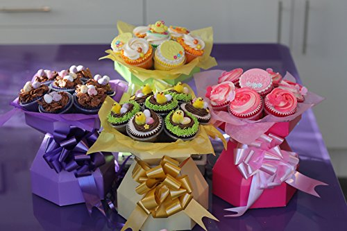 Cupcake Bouquet Boîte-Vase Style Boîte pour cupcake Bouquet Gifts