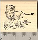 Lion Rubber Stamp