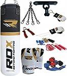 Authentic RDX 9 Piece Boxing Set 5FT...