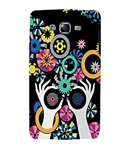printtech Girl Abstract Pattern Back Case Cover for Samsung Galaxy Grand 2 G7102 / Samsung Galaxy Grand 2 G7106