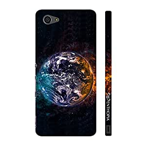 Enthopia Designer Hardshell Case Water Earth Fire Space Back Cover for Sony Xperia Z5 Mini