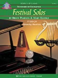W39CLB - Standard of Excellence - Festival Solos Book 3 - Bass Clarinet