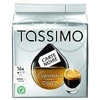 TASSIMO Carte Noire Expresso Classico 16 T DISCs (Pack of 5, Total 80 T DISCs)