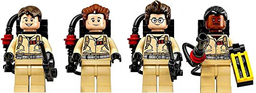 LEGO Ghostbusters Set of all 4 LOOSE Minifigures [Stanz, Venkman, Zeddemore & Spengler]