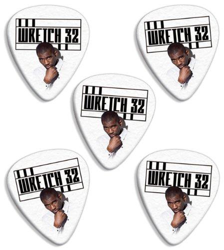 Wretch 32 (Classic Logo Range) Premium Chitarra Picks Plettri x 5