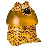 Crane Adorable 1 Gallon Ultrasonic Cool Mist Humidifier, Leopard