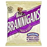 Brannigans from McCoy's Roast Beef & Mustard Flavour Potato Chips 40g - Pack of 36