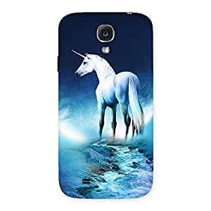 Enticing Unicorn Horse Print Back Case Cover for Samsung Galaxy S4