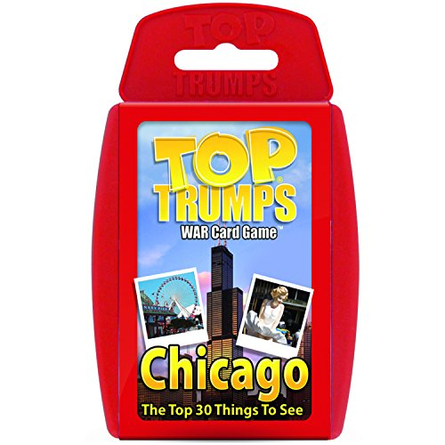 Chicago '30 Things To See And Do' Card Game