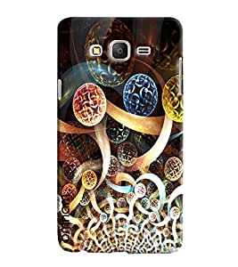 Omnam Globe Made Of Galaxy Printed Designer Back Cover Case For Samsung Galaxy On 7