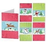 ユニセフ クリスマスカード/サンタのダンス 04000N0S10