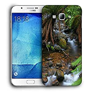 Snoogg Water Flowing Through The Jungle Printed Protective Phone Back Case Cover For Samsung Galaxy Note 5