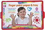 ALEX® Toys - Alex Jr. Tots Finger Paint Paper & Tray- Art Supplies  1807T