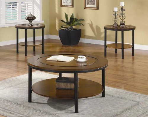 Inland Empire Furniture Palmer Warm Brown Solid Wood 3