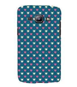 Fantastic Heart Design 3D Hard Polycarbonate Designer Back Case Cover for Samsung Galaxy J1 (2016) :: Samsung Galaxy J1 (2016) J120H