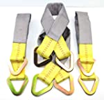 """(Pack of 4) 24"""" Tied Down Axle Straps..."""