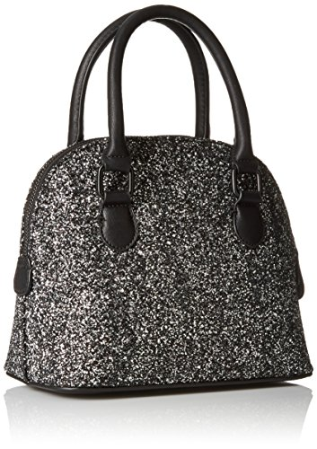 187 Aldo Cormack Satchel Bag Silver One Size