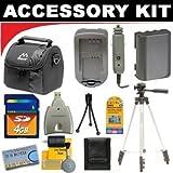 Deluxe Smart Shop Accessory Kit For The Nikon Coolpix L28, L820, L320 Digital Camera