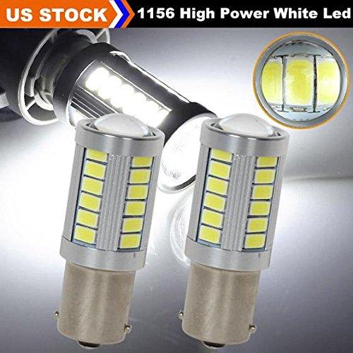 Partsam 2PCS 1156 1141 7506 5008 33-Epistar-5730-SMD High Power White 7000K Backup Reverse Light Projector LED (Suzuki Samurai Body Plugs compare prices)