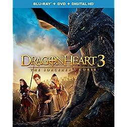 Dragonheart 3: The Sorcerer's Curse [Blu-ray]