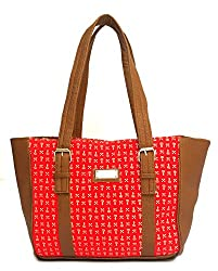 Vintage Stylish Ladies Handbag Red(bag 107)