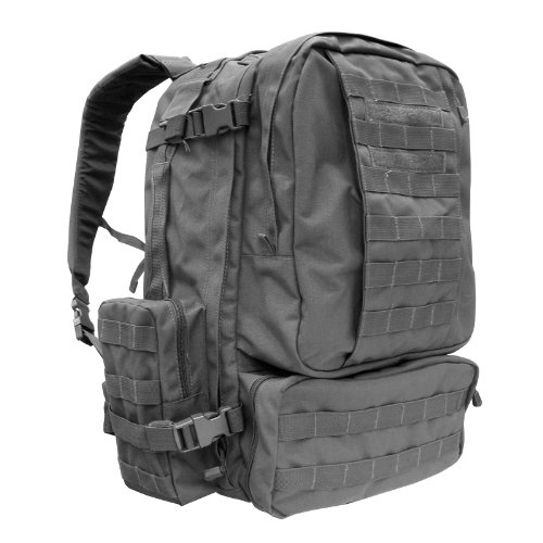 Condor 3 Day Assault Pack (Black, 3038-Cubic Inch) (Map Pack 3 compare prices)