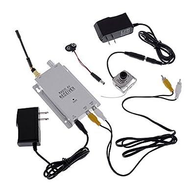 Neewer® LED NTSC Pinhole Mini Wireless CCTV Security Camera Video Surveillance