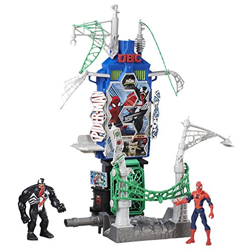Spiderman - Set Spider-Man, Web City Daily Bugle Battle Playset