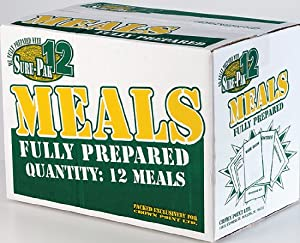Sure-Pak Genuine GI Military MRE Meals Ready To Eat (12 Pack) by Rothco