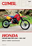 Honda CR250-500R Prolink, 1981-87: Cl...