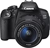 Canon EOS 700D Appareil photo num�rique R�flex Kit Bo�tier + Objectif 18-55 Mm IS STM 18 Mpix Noir