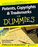 img - for Patents, Copyrights & Trademarks For Dummies book / textbook / text book