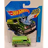 2014 Hot Wheels Color Shifters 12/48 - Dodge Van