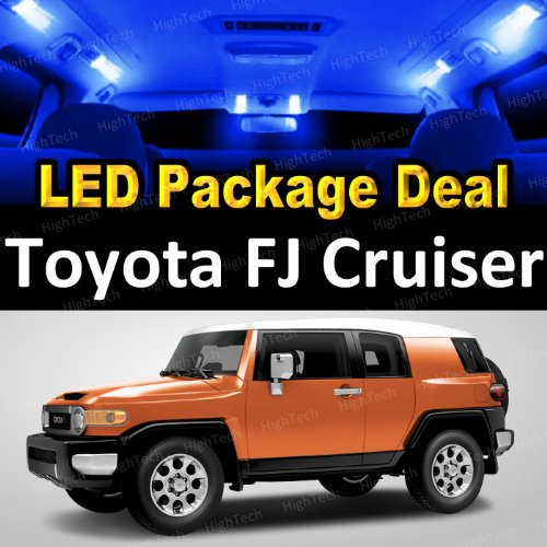 Led Interior Package Deal For 2012 Toyota Fj Cruiser (6 Pieces), Blue