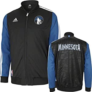 Minnesota Timberwolves adidas Home Weekend 2012-2013 Authentic On-Court Jacket -... by adidas