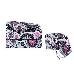 bkb Paisley Flower Cradle Bedding Set, Black/White, 18\