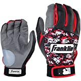 Franklin フランクリン バッティンググローブ DIGITEK 赤 黒 グレー サイズXL [並行輸入品]