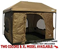 Standing Room 100 hanging Tent (tan)